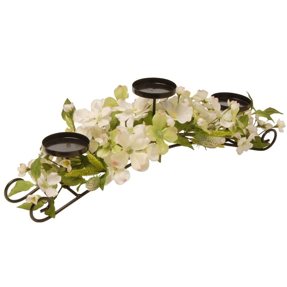 26 in. Dogwood Candle Holder