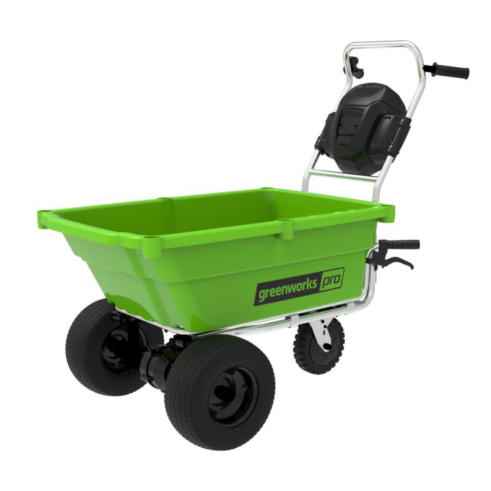 PRO 60-Volt Battery Garden Cart (Tool Only)