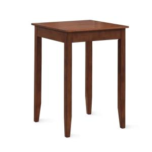 American Woodcrafters Provence 42 inch H Brown Cherry Square Pub Table by American Woodcrafters