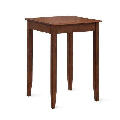 Provence 42 in. H Brown Cherry Square Pub Table