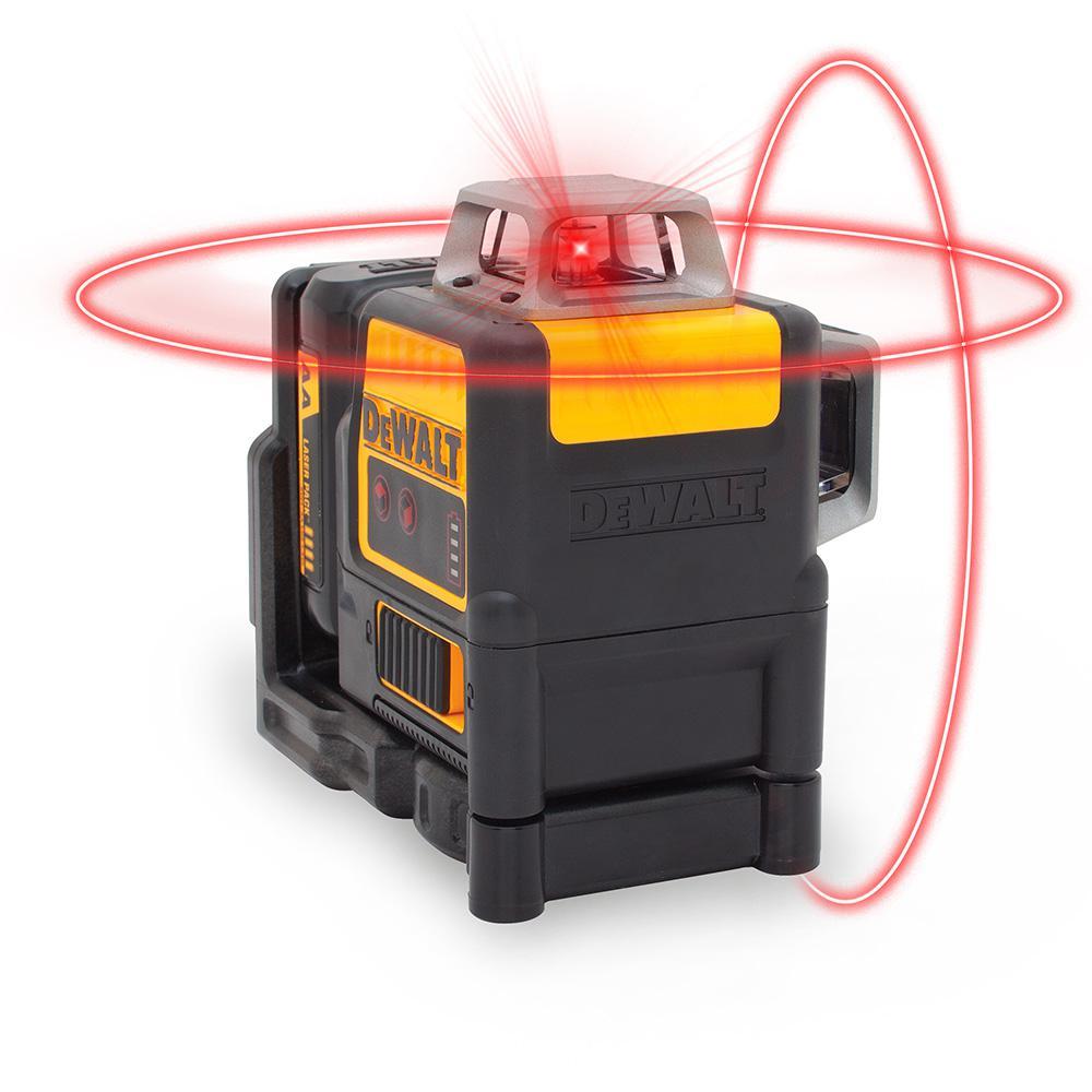 12-Volt-MAX Lithium-Ion 2 x 360 Red Line Laser Level