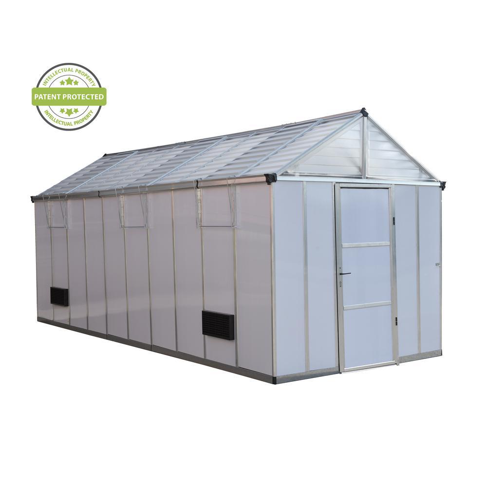 Light Deprivation 8 ft. x 20 ft. Greenhouse