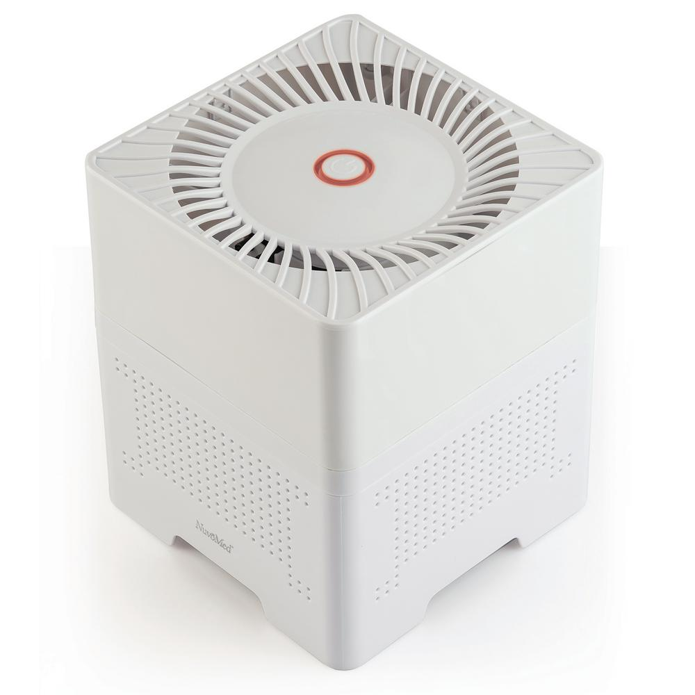 NuvoMed 3-In-1 Ionic Air Purifier with HEPA Filter