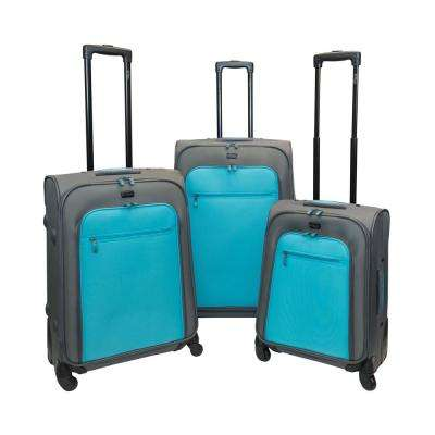Spectra 3-Piece Castle Luggage Set