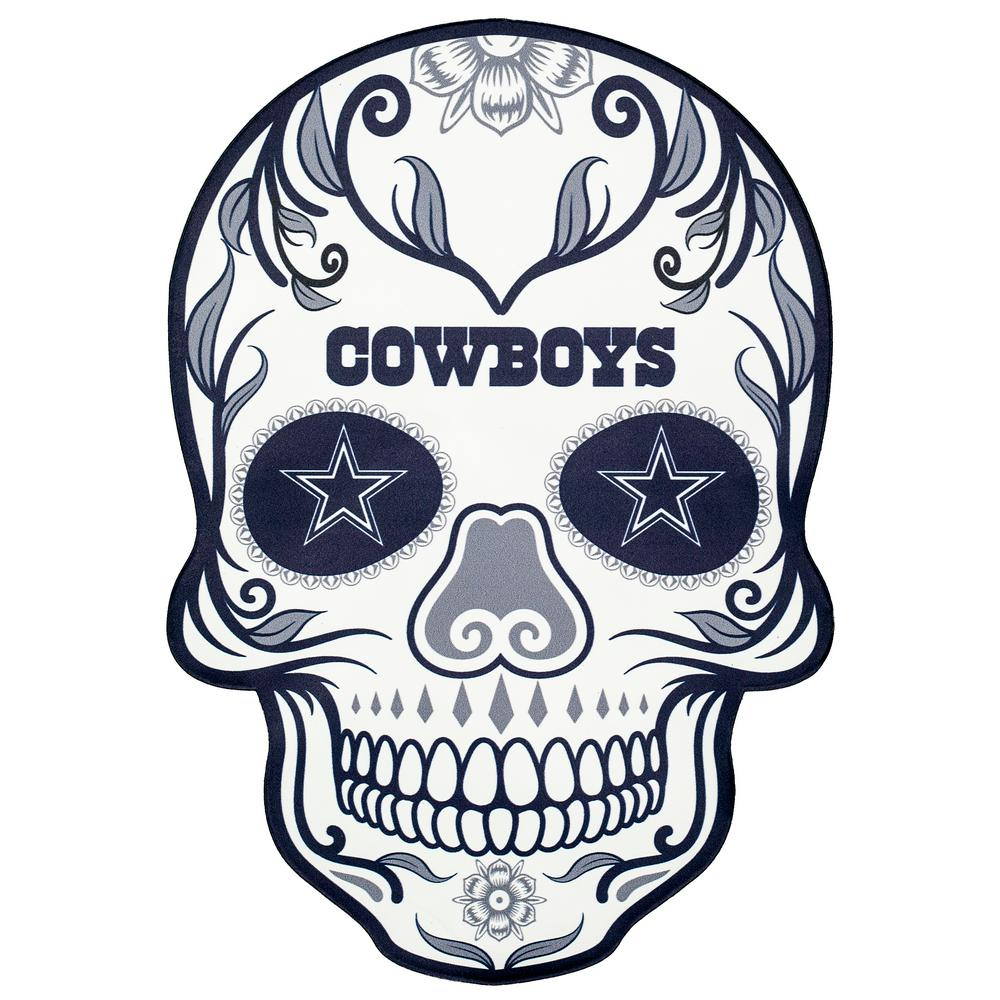 Applied Icon NFL Dallas Cowboys Outdoor Skull Graphic- Small ... 2f37a1436