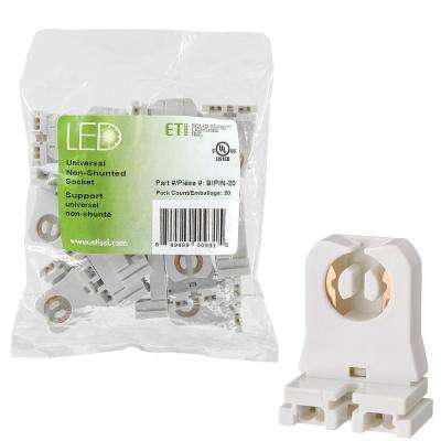 LED Light Bulb Accessory Universal Non-Shunted Socket (20-Pack)