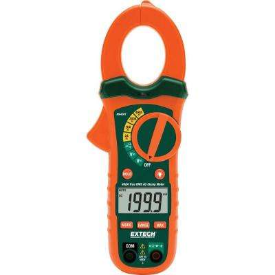 True RMS AC Clamp Meter with NCV
