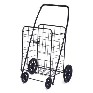 Easy Wheels Jumbo-A Shopping Black Cart by Easy Wheels