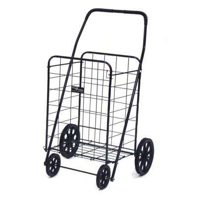 Jumbo-A Shopping Black Cart