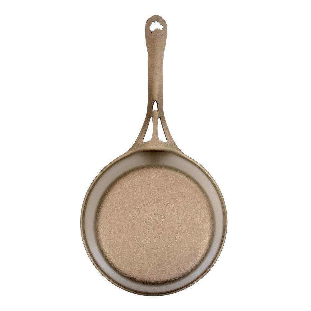Australian Iron 9 in. Iron Nonstick Saute Pan in Bronze