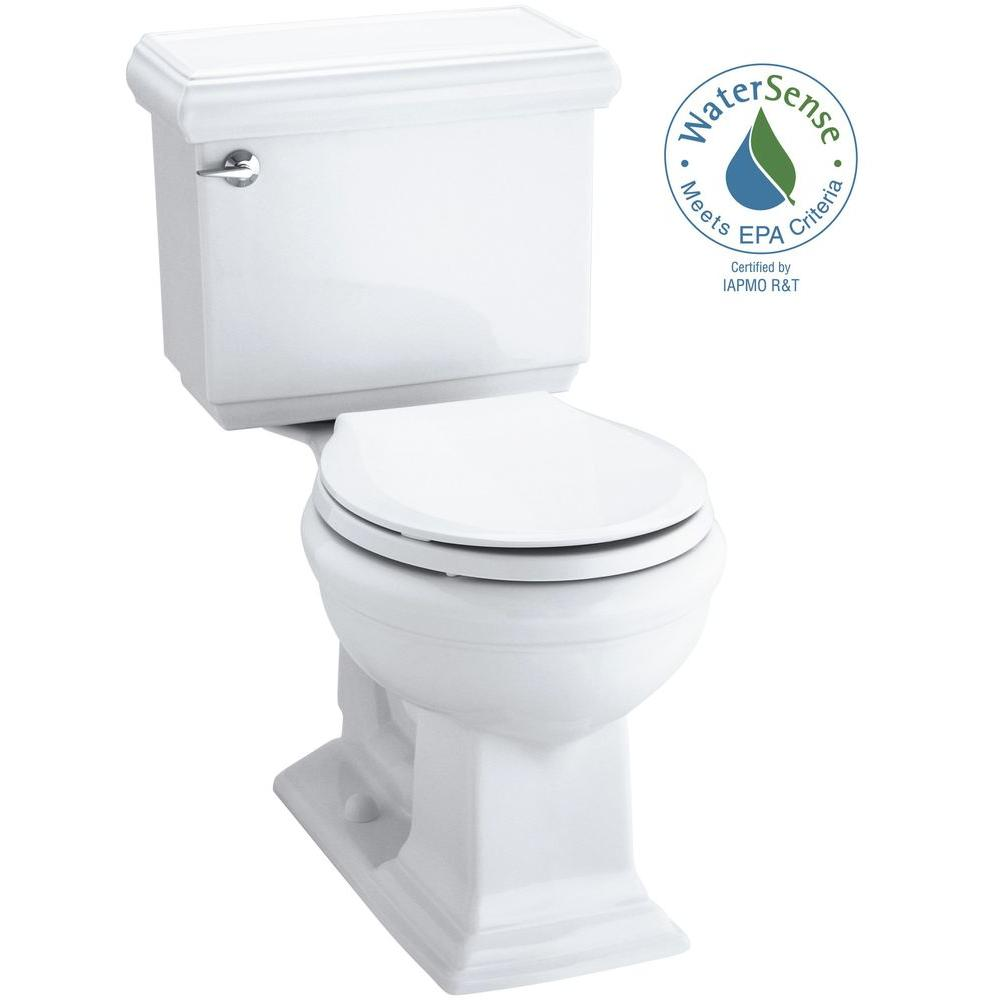 Memoirs Classic Comfort Height 2-piece 1.28 GPF Single Flush Round Front