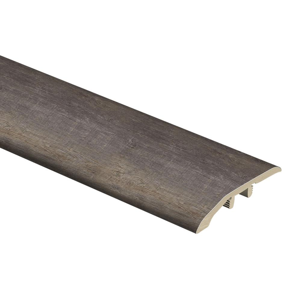 Zamma Seasoned Wood/Harrison Pine Dark 1/3 in. Thick x 1-13/16 in. Wide x 72 in. Length Vinyl Multi-Purpose Reducer Molding