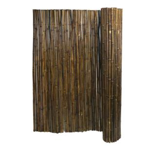 MGP 8 ft  L x 4 ft  H Willow Twig Privacy Screen Fence-WTF-4