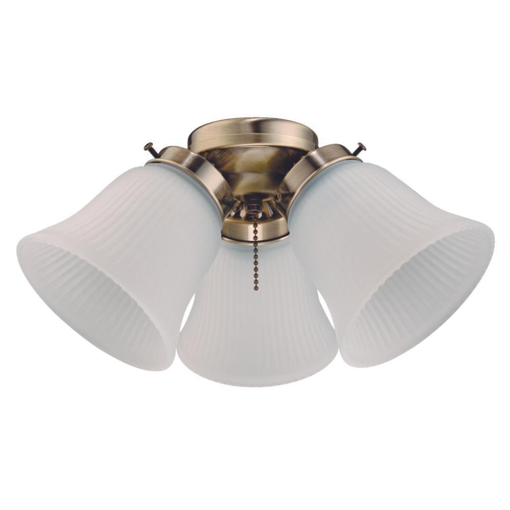 3-Light LED Cluster Ceiling Fan Light Kit