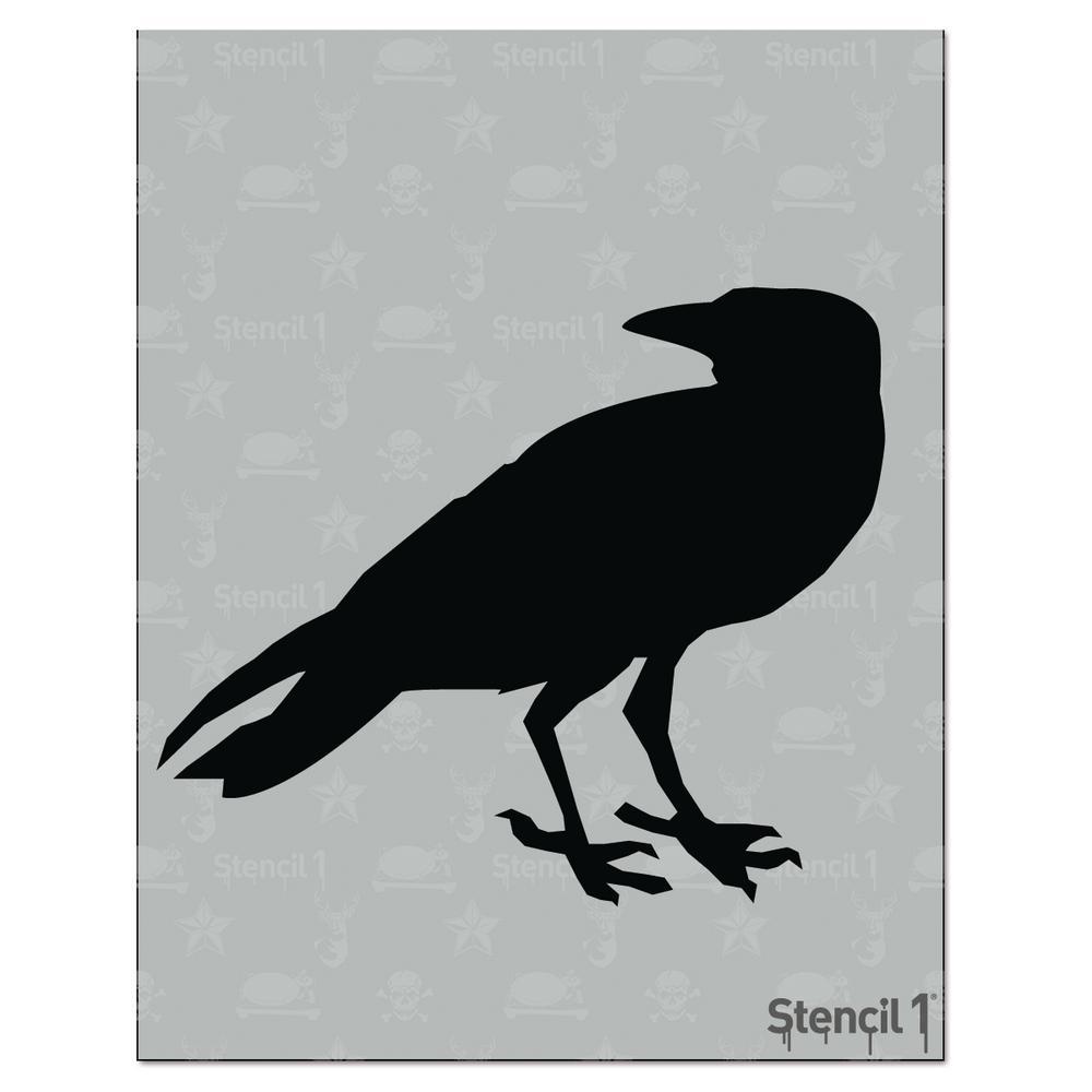 Stencil1 Raven Stencil-S1_01_BS-1_L6 - The Home Depot