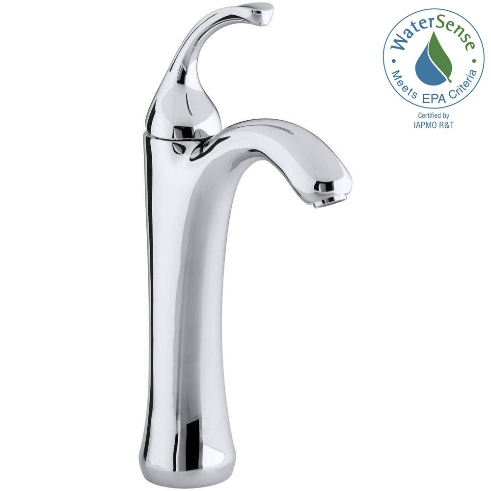 kohler single hole bathroom faucet. KOHLER Forte Single Hole Handle Mid-Arc Bathroom Faucet In Polished Chrome Kohler R