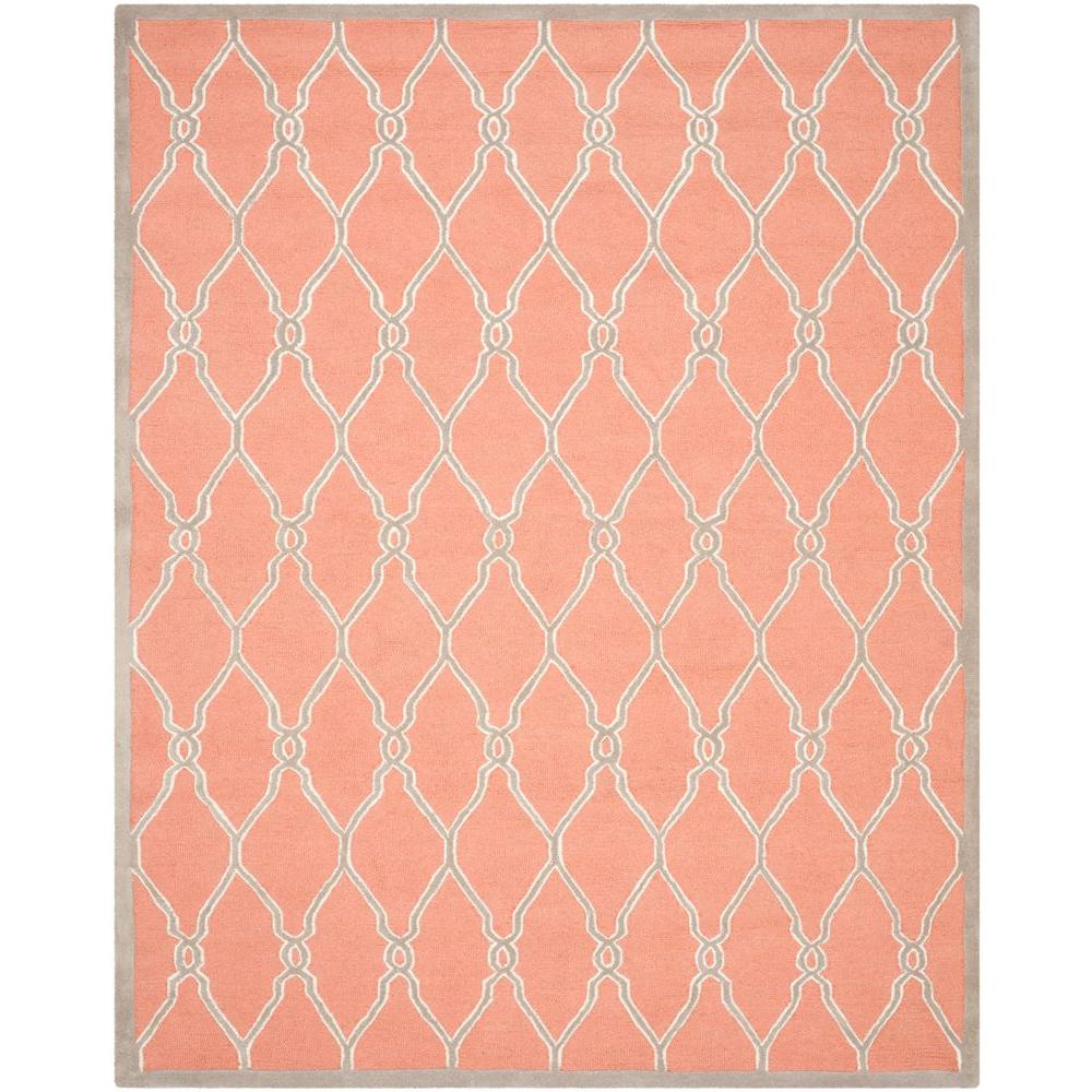Safavieh Cambridge Coral Ivory 8 Ft X 10 Ft Area Rug