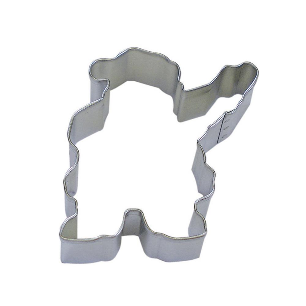 47bc6ddfe4f1 CybrTrayd 12-Piece 4 in. Waving Santa Tinplated Steel Cookie Cutter and  Recipe-RM-1126-12LOT - The Home Depot