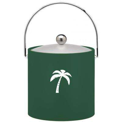 Kasualware Palm Tree 3 Qt. Ice Bucket in Green