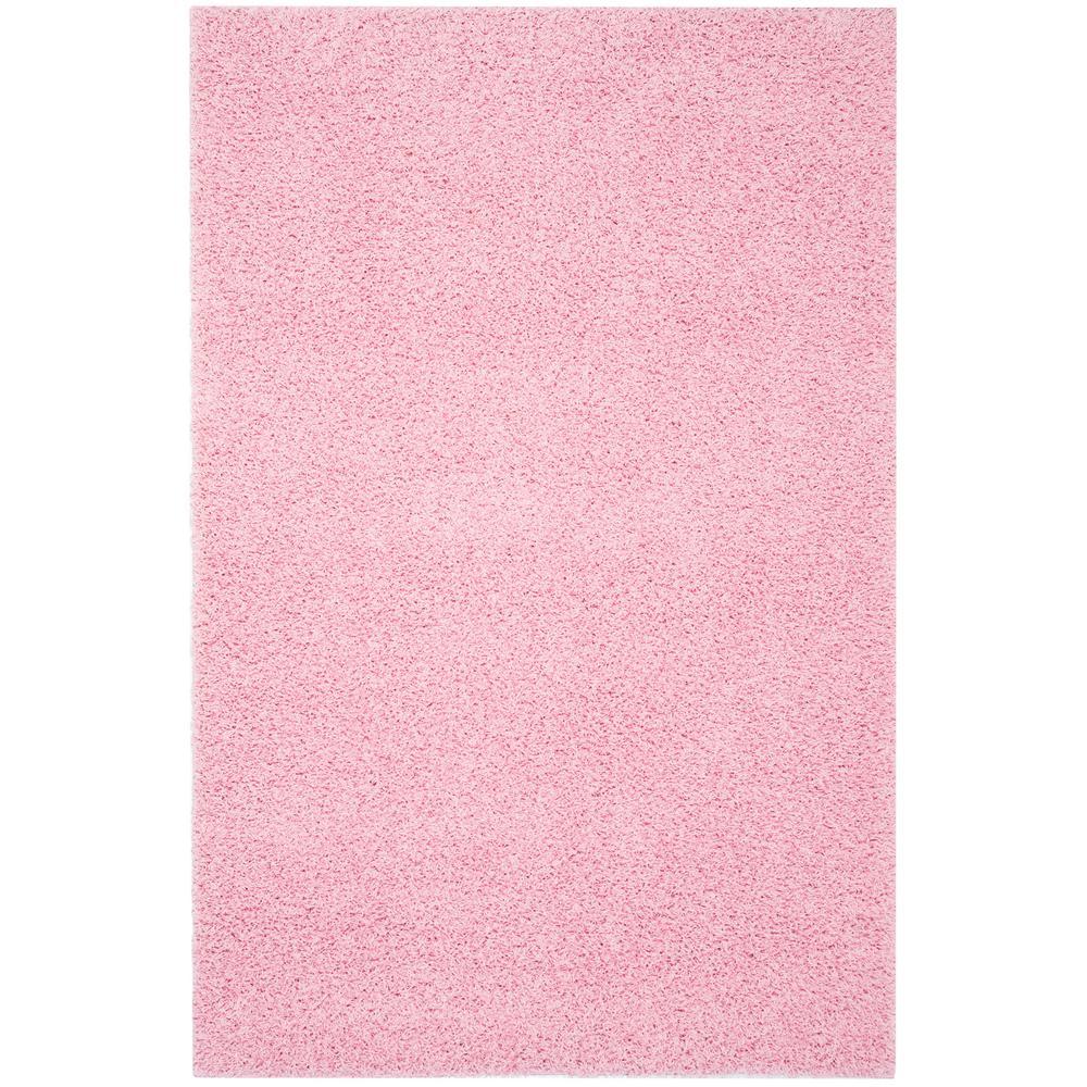 Safavieh Athens Shag Pink 9 Ft X 12 Ft Area Rug Sga119p