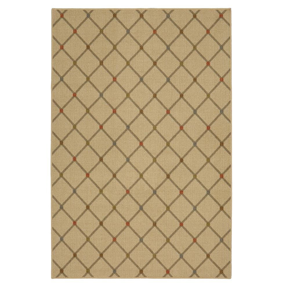 Mohawk Home Traditional Jewel Rug: Mohawk Home Channel Block Multi 5 Ft. X 7 Ft. Area Rug