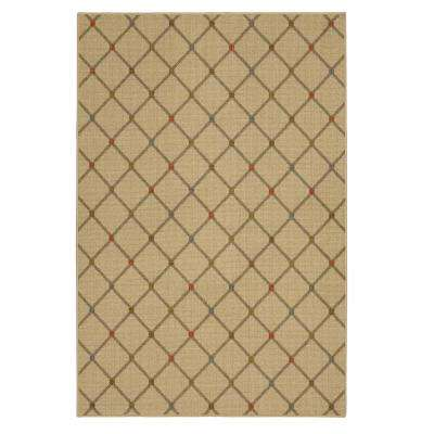 Channel Block Multi 5 ft. x 7 ft. Area Rug