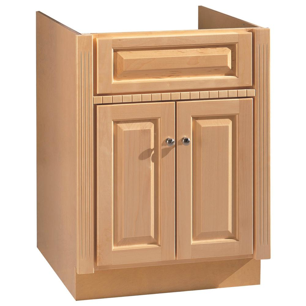 Hardware House 24 In W X 21 In D Vanity Cabinet In Maplewood 16600348 The Home Depot