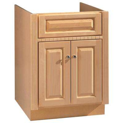 24 in. W x 21 in. D Vanity Cabinet in Maplewood