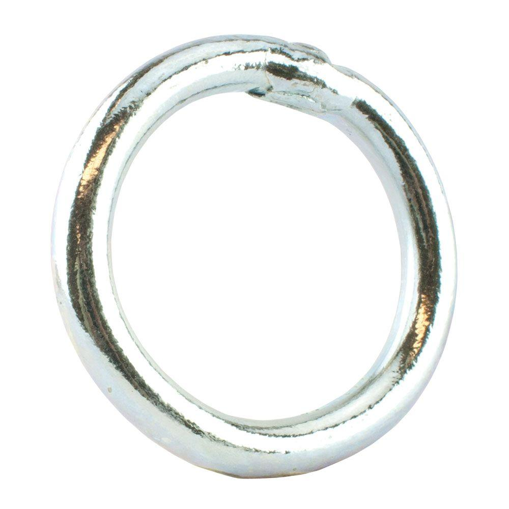 3/8 in. x 2 in. Zinc-Plated Welded Ring