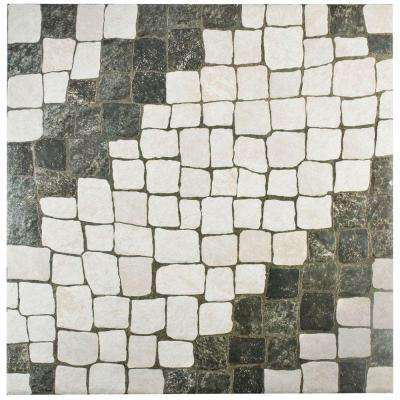 Calzada Blanco 20-1/4 in. x 20-1/4 in. Ceramic Floor and Wall Tile (20.4 sq. ft. / case)