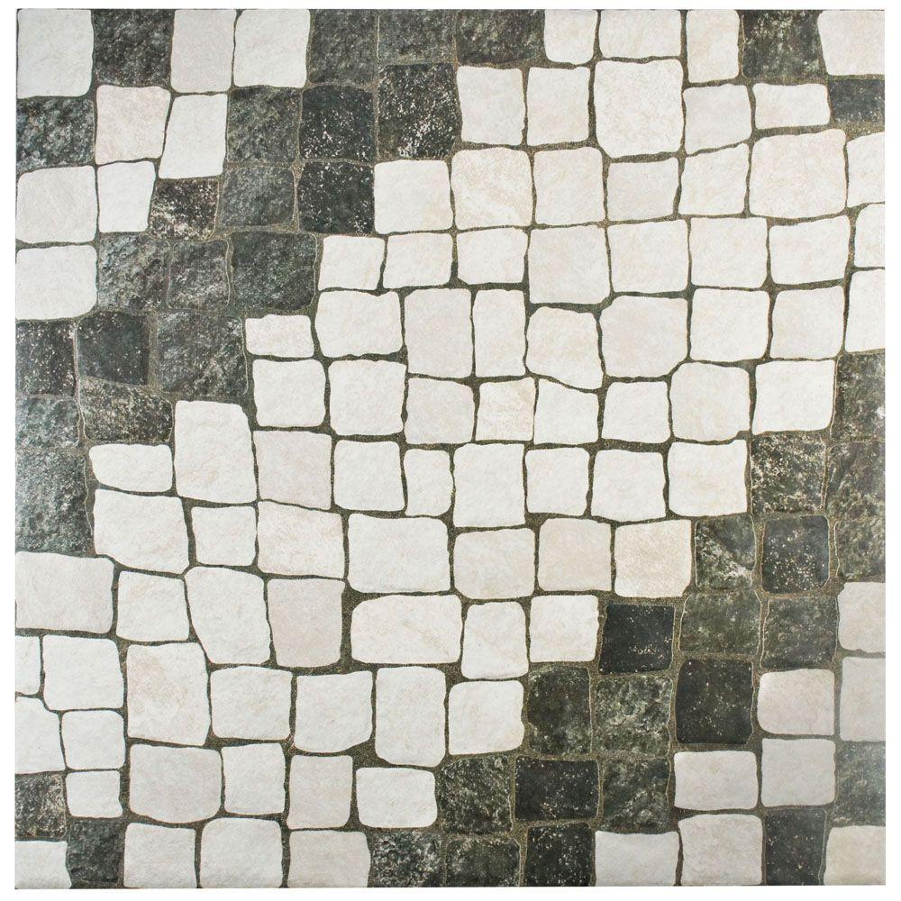 Merola Tile Calzada Blanco 20-1/4 in. x 20-1/4 in. Ceramic Floor and Wall Tile (20.4 sq. ft. / case)
