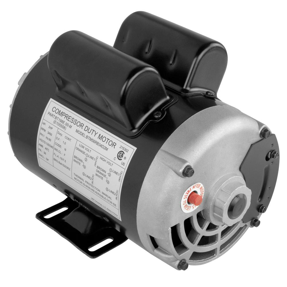 Replacement Air Compressor Pump >> Replacement Motor For Husky Air Compressor