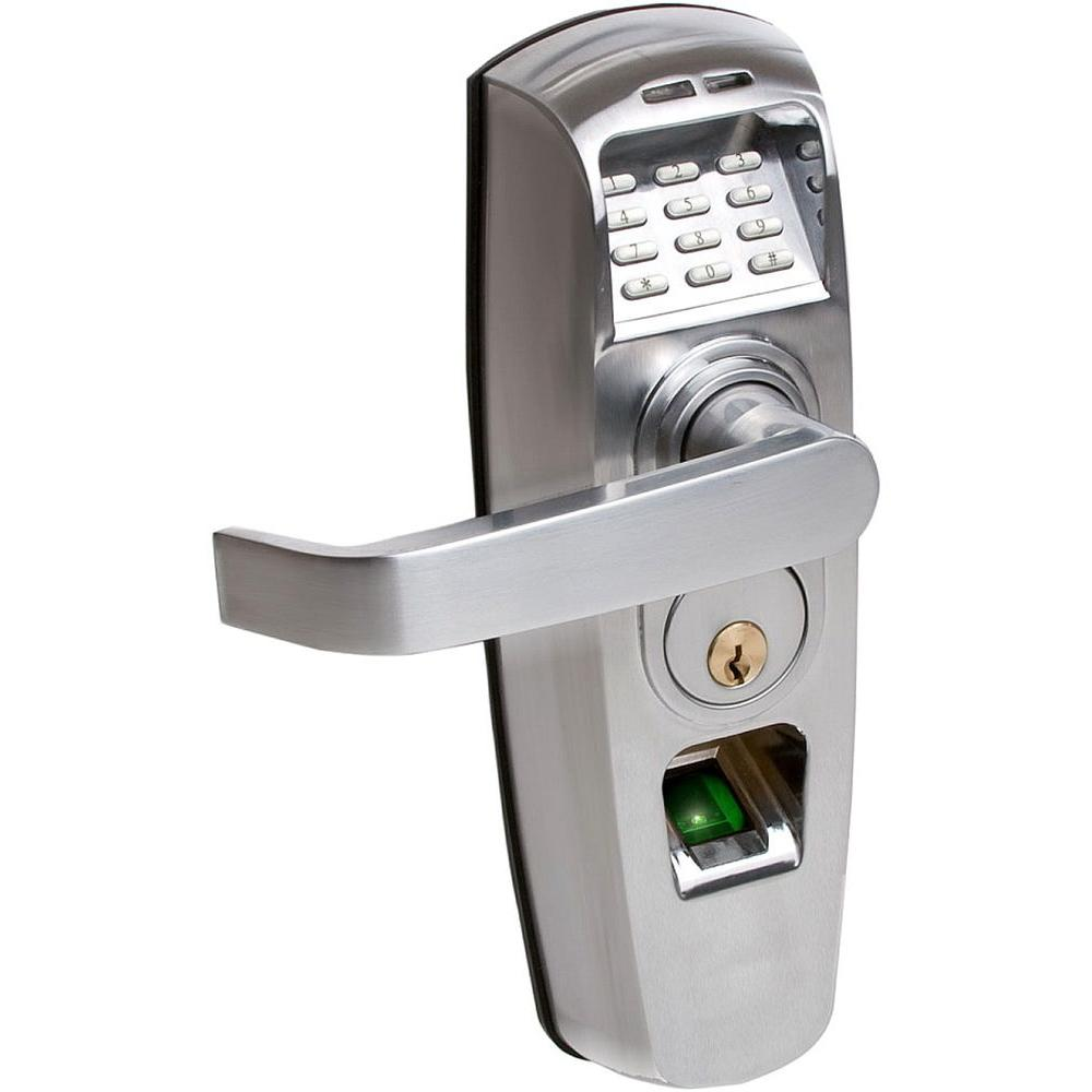 null ReliTouch Satin Chrome Handle Lock