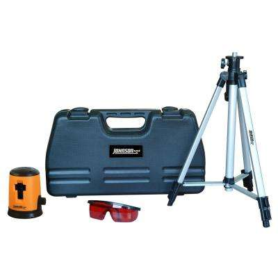 Self-Leveling Cross-Line Laser Level Kit