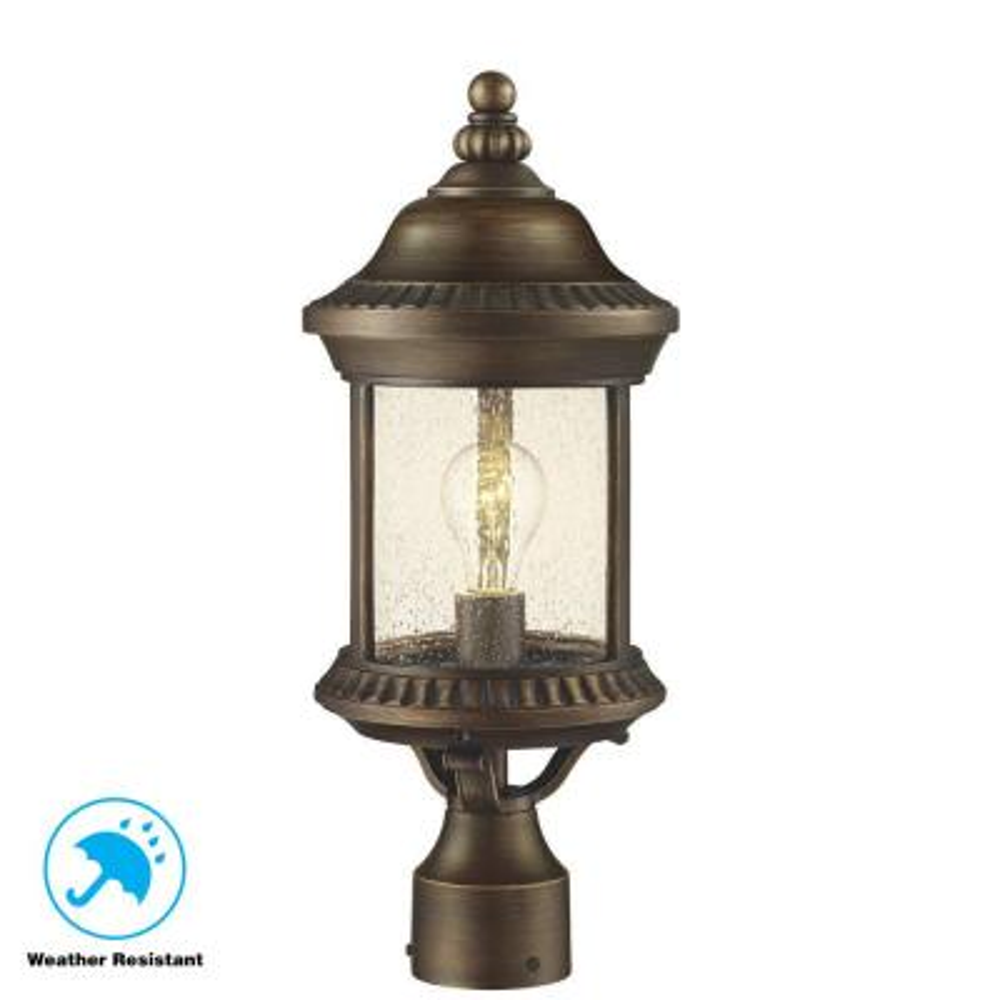 Cambridge Essex Bronze Outdoor Post Lantern