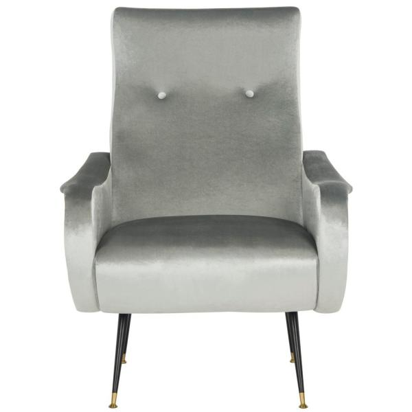 Elicia Light Gray Accent Chair