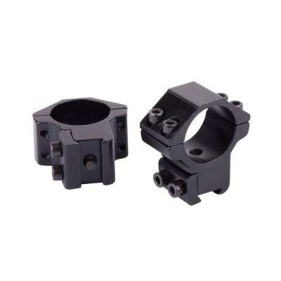CenterPoint Medium Profile Dovetail Rings for Airguns and Premium 0.22 Rifles (2-Piece)