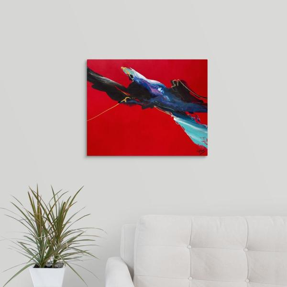 GreatBigCanvas 20 in. x 16 in. ''Angelic Flight'' by Jonas Gerard
