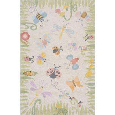 Lil Mo Classic Cream 5 ft. x 7 ft. Area Rug