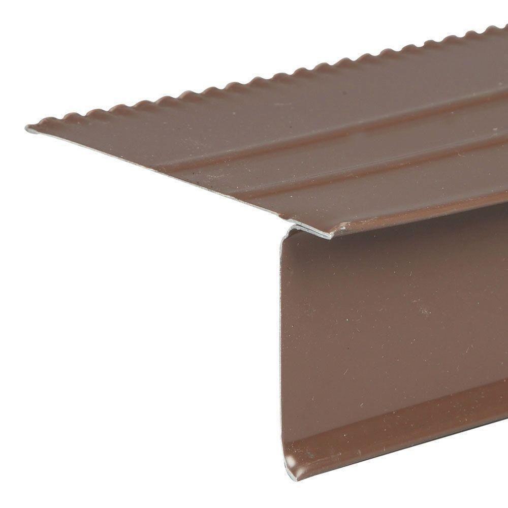 Amerimax Home Products 2 35 In X 10 Ft S Bronze Aluminum