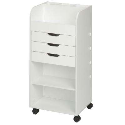 Craft Storage Cart with 3 Drawers