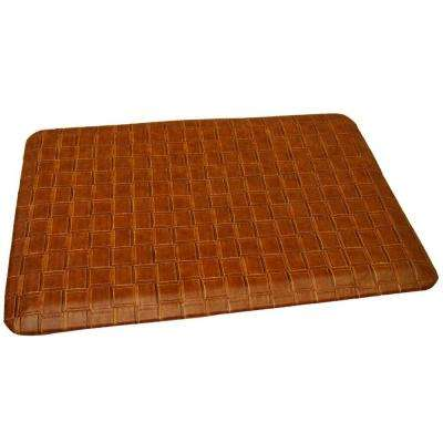 Rhino Comfort Craft Catmandoo Saddle 24 in. x 72 in. Poly-Urethane Blend Anti-Fatigue Kitchen Mat