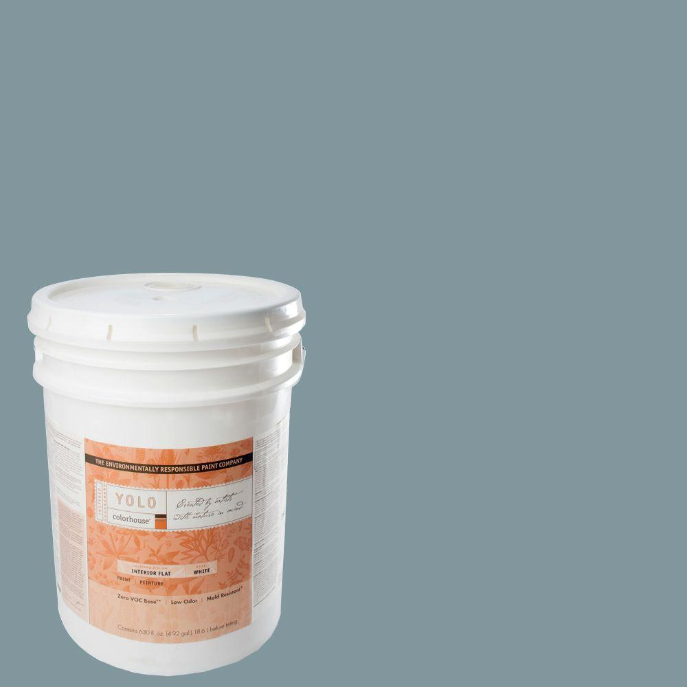 YOLO Colorhouse 5-gal. Water .05 Flat Interior Paint-DISCONTINUED