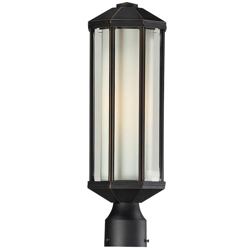 Exterior Landscape Lighting Fixture Orbs : Filament design lawrence light oil rubbed bronze