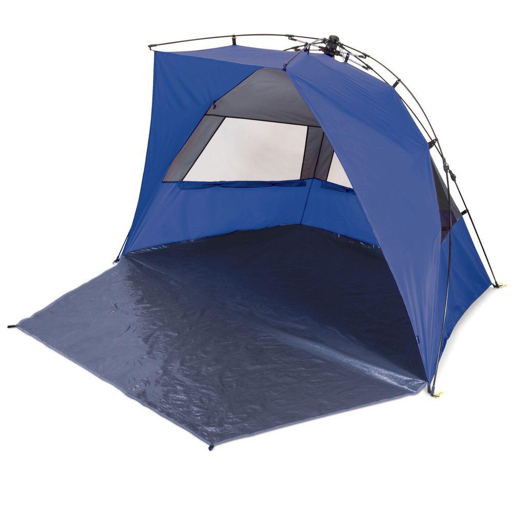 Haven Portable Sun and Wind Shelter in Blue