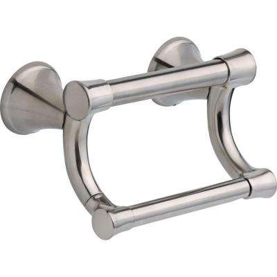 Decor Assist Transitional Toilet Paper Holder with Assist Bar in Stainless
