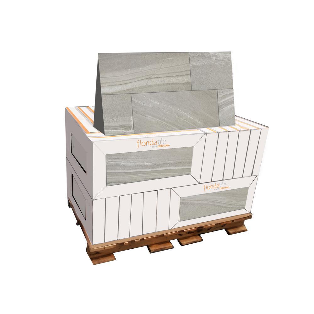 Aspen Granite Rectified 12 in. x 24 in. Porcelain Floor and Wall Tile (425.6 sq. ft. / pallet)