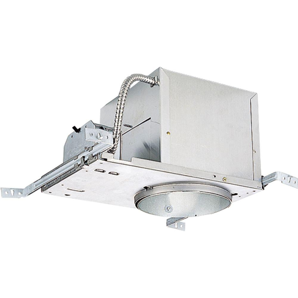 Progress Lighting 6 in. New Construction Recessed Metallic Housing with Air Tight, IC