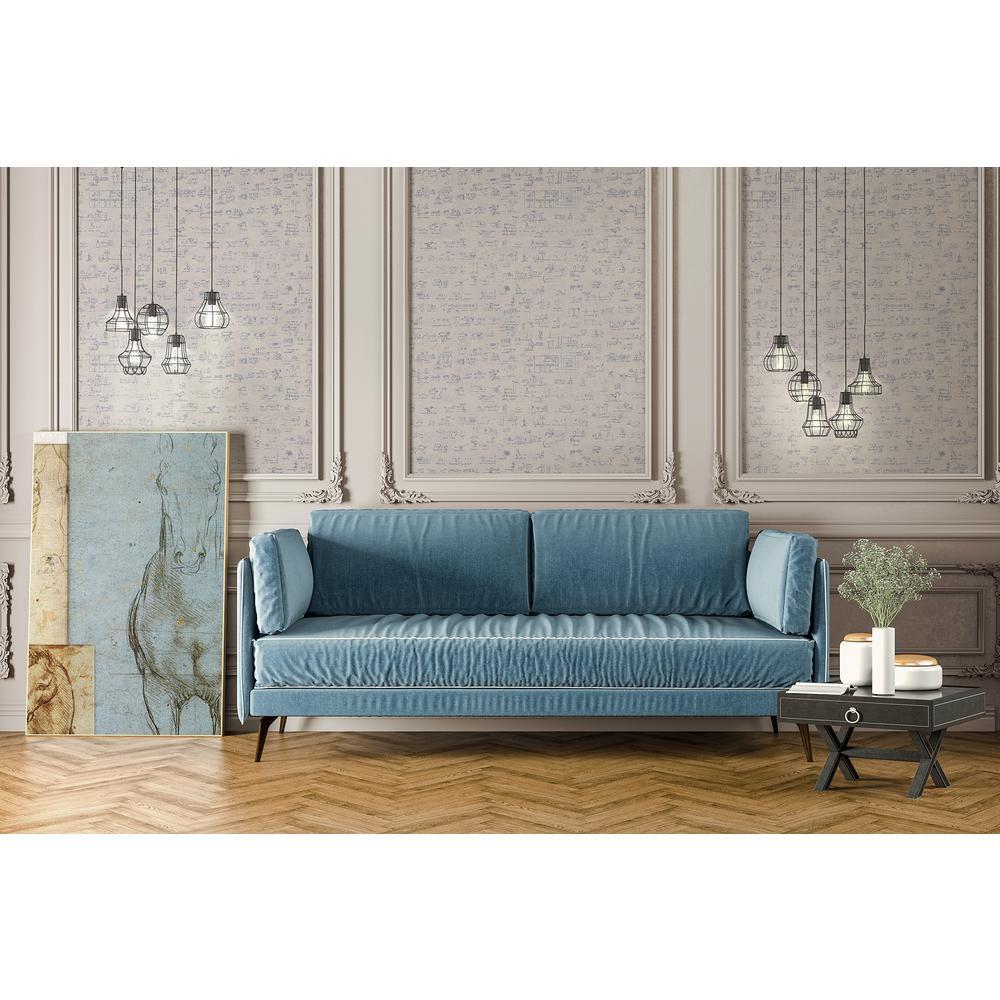 Glossario Light Blue Speckled Wallpaper