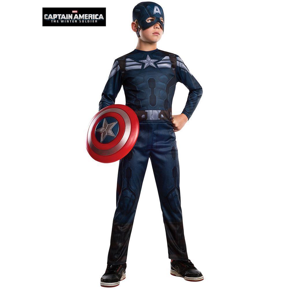 Boys Captain America 2 Stealth Costume